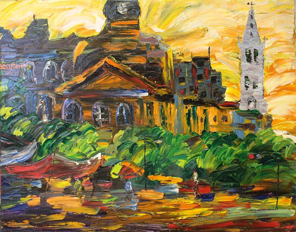 yong man kwon artiste peintre